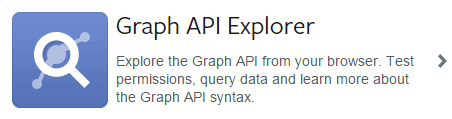 Graph API Explorer